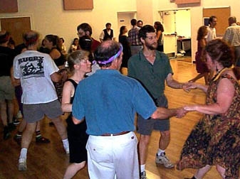 Photo from a contra dance
