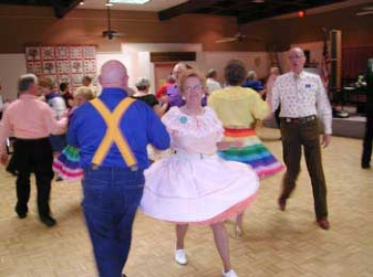 Photo from a square dance